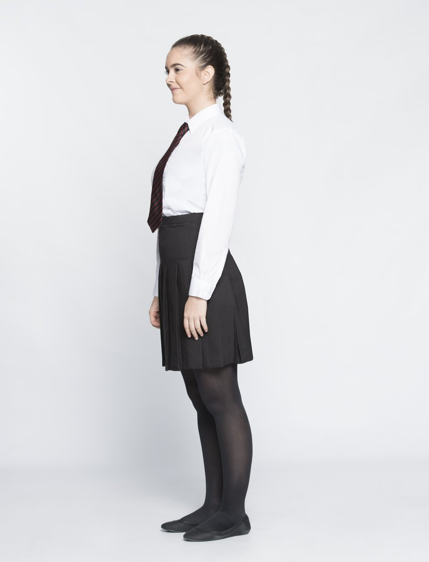 "Long Sleeve Blouse | GB3100 White / 48"" School Uniform Centres Blouses school-uniform-centres.myshopify.com Schoolwear Centres"