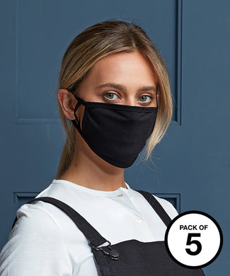 Washable 2-ply face covering (pack of 5)  Schoolwear Centres Covid-19 school-uniform-centres.myshopify.com Schoolwear Centres