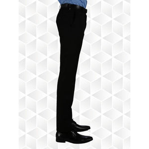 Senior Boys Slim Fit Trousers (Innovation) | Black | Navy | Grey | Charcoal Black / W40/L33 Schoolwear Centres Slim Fit Trousers school-uniform-centres.myshopify.com Schoolwear Centres