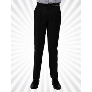 Senior Boys Regular Fit Trousers | Black | Navy | Grey  Schoolwear Centres Slim Fit Trousers school-uniform-centres.myshopify.com Schoolwear Centres