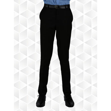 Senior Boys Slim Fit Trousers (Innovation) | Black | Navy | Grey | Charcoal