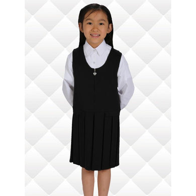 Two Button/Flap Pinafores  Schoolwear Centres Pinafore school-uniform-centres.myshopify.com Schoolwear Centres