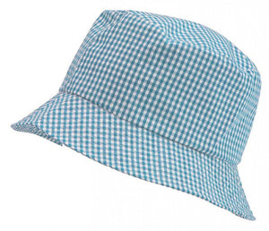 Gingham Summer Dress & Gingham Sun Hat Light Blue / Sun Hat / 56cm School Uniform Centres Dress school-uniform-centres.myshopify.com Schoolwear Centres