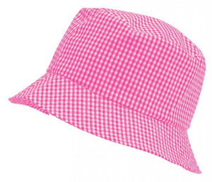 Gingham Summer Dress & Gingham Sun Hat Sun Hat / 56cm / Pink School Uniform Centres Dress school-uniform-centres.myshopify.com Schoolwear Centres