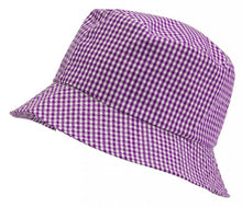 Gingham Summer Dress & Gingham Sun Hat Sun Hat / 56cm / Purple School Uniform Centres Dress school-uniform-centres.myshopify.com Schoolwear Centres