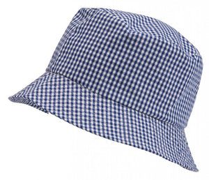 Gingham Summer Dress & Gingham Sun Hat Sun Hat / 56cm / Royal School Uniform Centres Dress school-uniform-centres.myshopify.com Schoolwear Centres