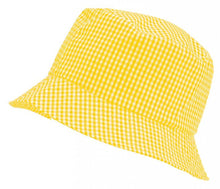 Gingham Summer Dress & Gingham Sun Hat Sun Hat / 56cm / Yellow School Uniform Centres Dress school-uniform-centres.myshopify.com Schoolwear Centres