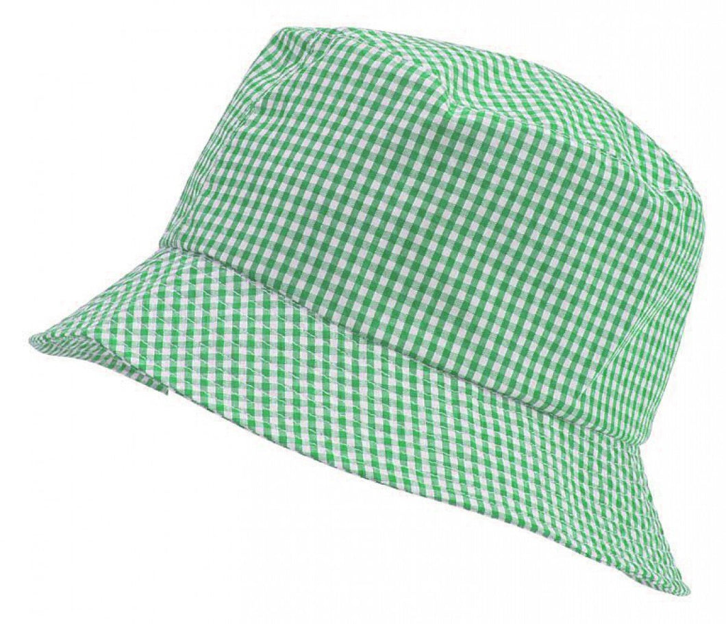 Gingham Summer Dress & Gingham Sun Hat Sun Hat / 56cm / Bottle School Uniform Centres Dress school-uniform-centres.myshopify.com Schoolwear Centres