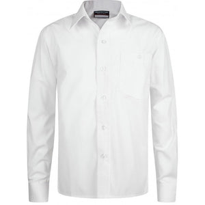 "Long Sleeve Shirts | Easy care White / 17.5"" School Uniform Centres Shirts school-uniform-centres.myshopify.com Schoolwear Centres"