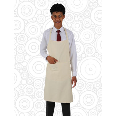 Woodwork/Craft Apron Unbleached / Men (15 +) Schoolwear Centres Accessories school-uniform-centres.myshopify.com Schoolwear Centres