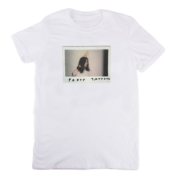 POLAROID WHITE T-SHIRT