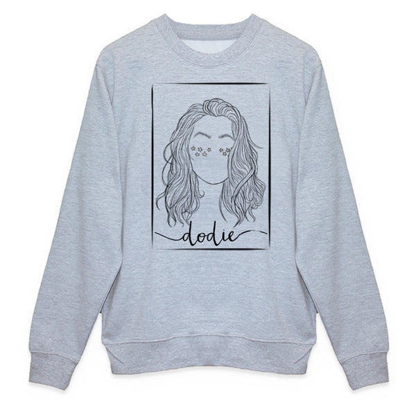 PORTRAIT GREY SWEATSHIRT