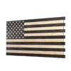 Dual Compartment Gun Concealment American Flag AR-15 size * Black and White