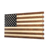 Dual Compartment Gun Concealment American Flag AR-15 size *Light Brown