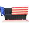 Dual Compartment Gun Concealment American Flag AR-15 size * Red White and Blue