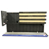 Dual Compartment Gun Concealment American Flag AR-15 size * The Blue Line