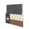 Texas Flag Concealment Cabinet - Brown