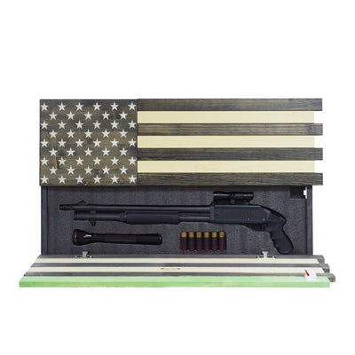 Dual Compartment Concealment American Flag *Thin Green Line
