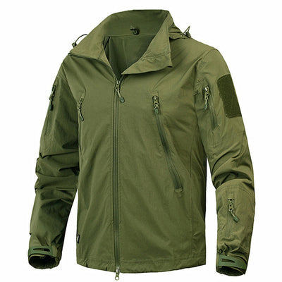 Tactical Autumn Military Windbreaker