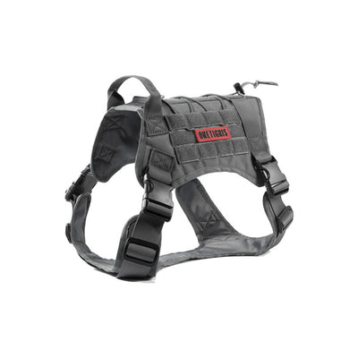 Dog Harness Vest for Walking Hiking Hunting Tactical Military