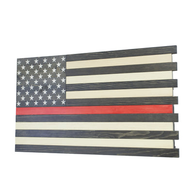 Dual Compartment Concealment American Flag *Thin Red Line