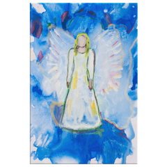 Angel Watcher, A glorious guardian angel canvas for your home.