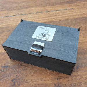 Personalised Wooden Gift Box - Memories/ Keepsakes Box