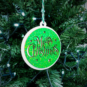 Merry Christmas Tree Decoration - (CH6004A)