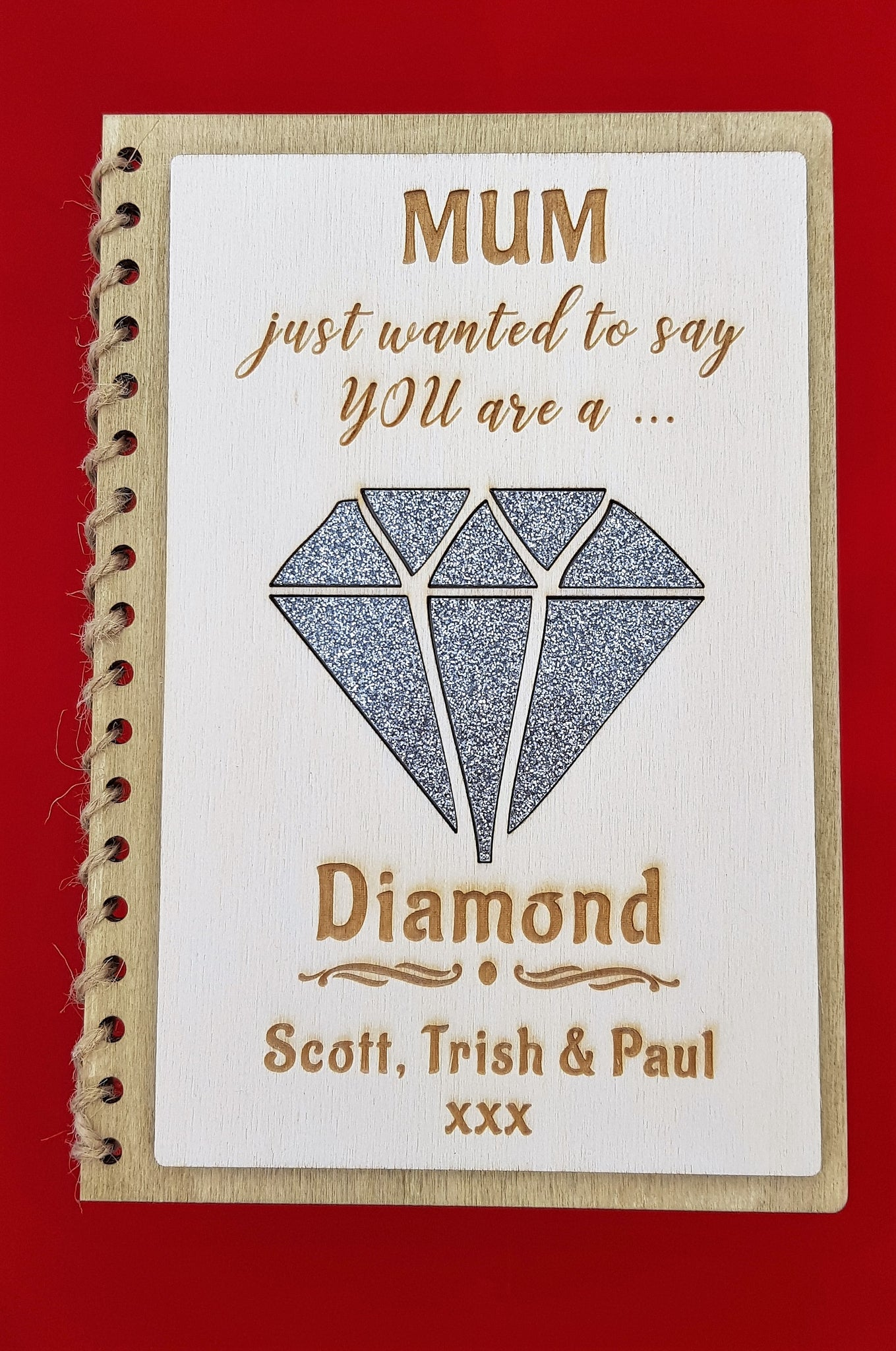 Mothers Day Card - You are a Diamond (CA 2502)