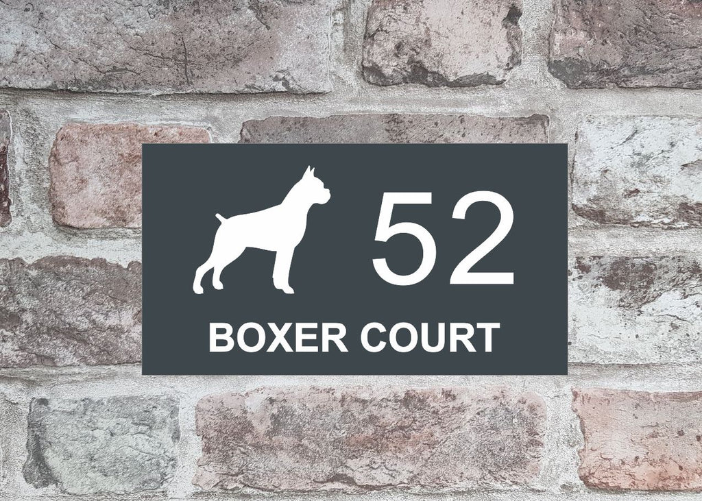 House Sign - HS 2003 Boxer