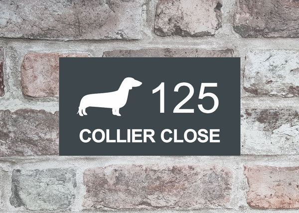House Sign - HS 2010 Dachschund