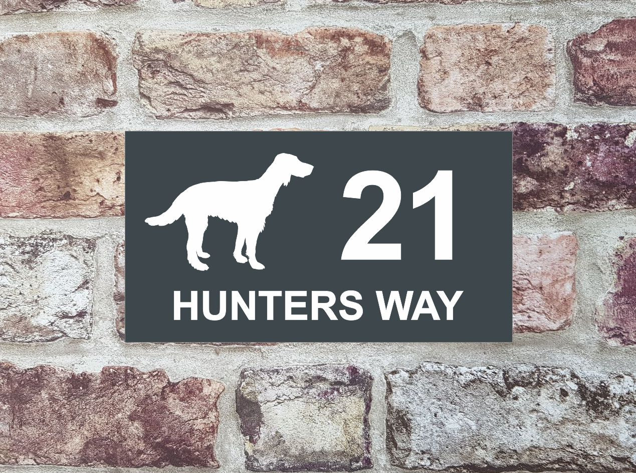 House Sign - HS 2012 English Setter