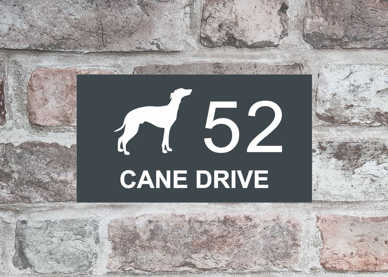 House Sign - HS 2015 Greyhound