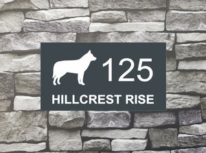House Sign - HS 2016 Husky