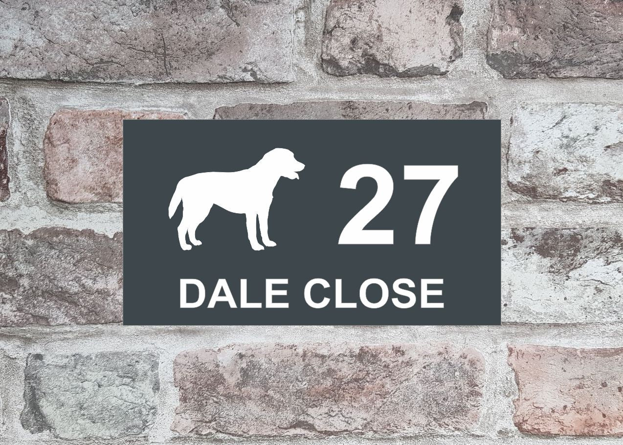 House Sign - HS 2017 Labrador