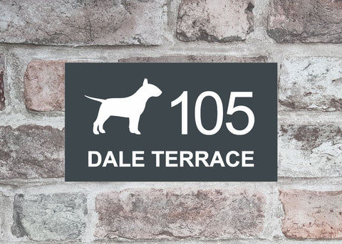 House Sign - HS 2018 Bull Terrier