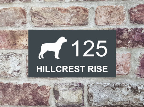 House Sign - HS 2022 Rottweiler