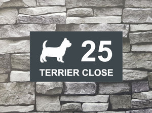House Sign - HS 2024 Yorkshire Terrier