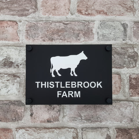 House/ Business Sign HS 2500 Cow