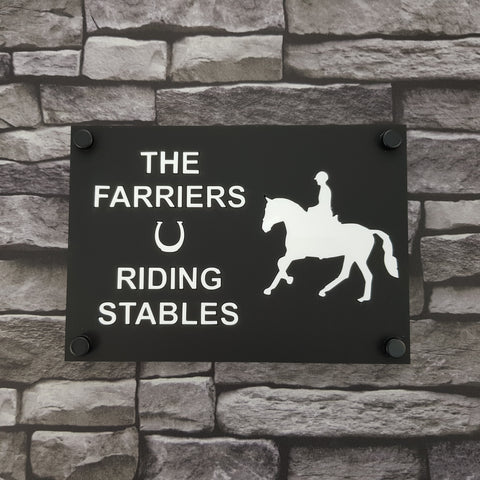 House/ Business Sign HS 2501 Horse (Standing)