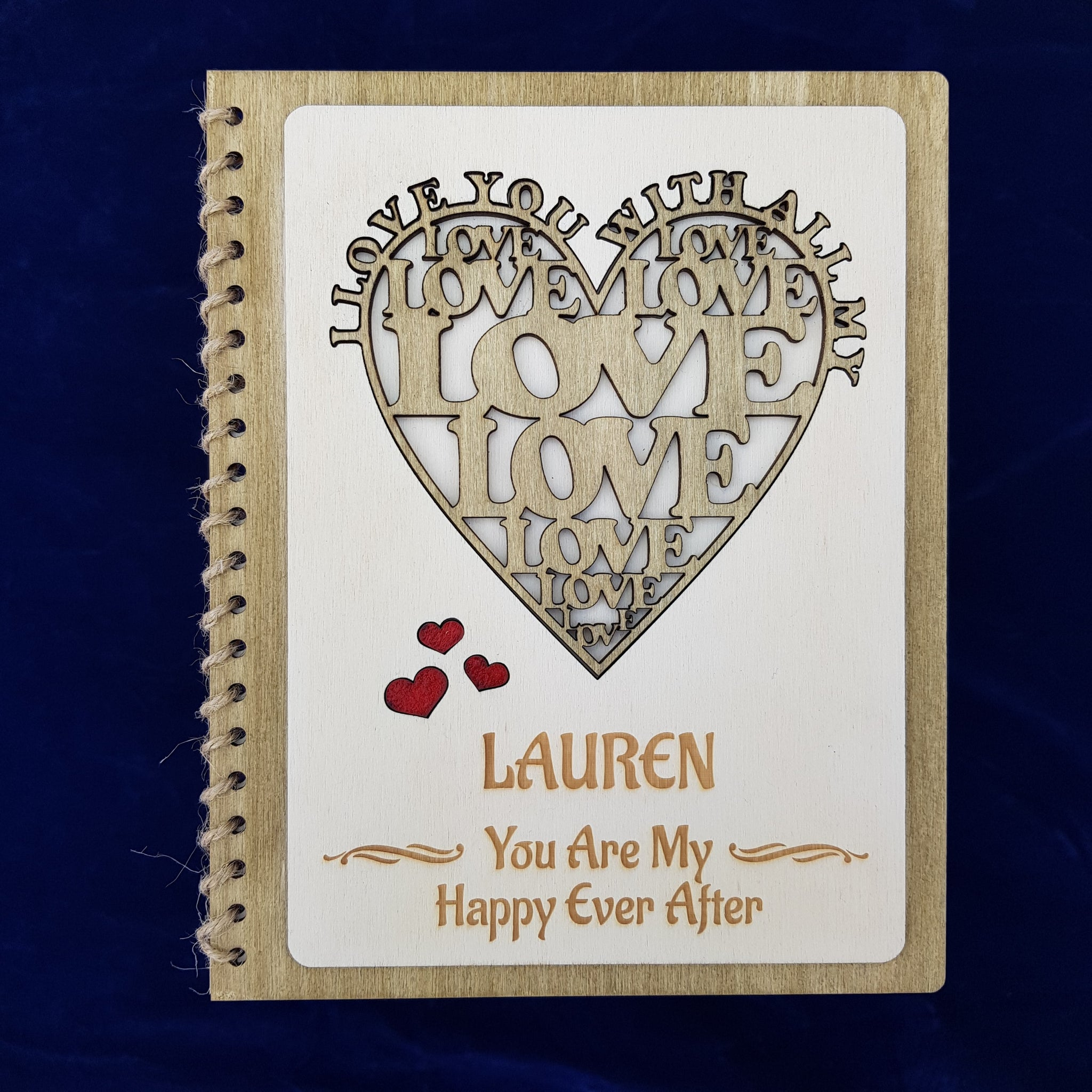 Valentine's Day Card - I Love You With All My Heart