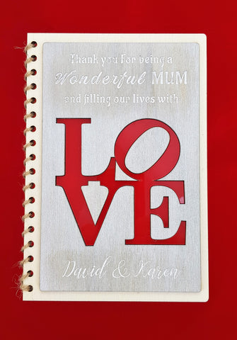 Mothers Day Card - L.O.V.E. (CA 2501)