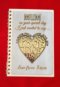 Mothers Day Card - Love You With All My Heart (CA 2500)