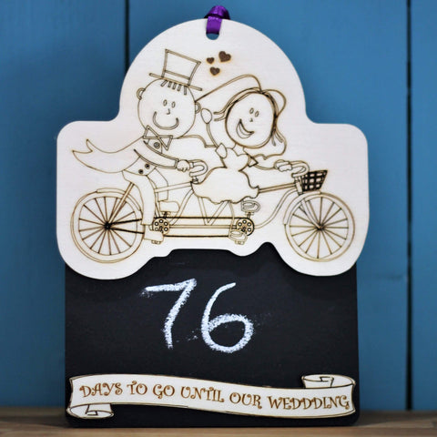 Days to Go Until Our Wedding