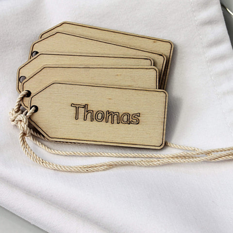 Table Place Name - Gift Tag-Laser-Rite