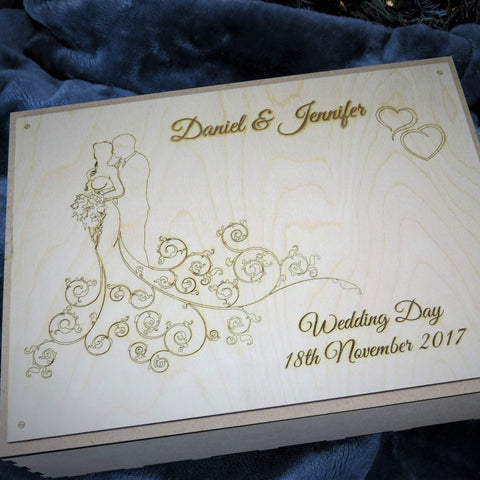 Wedding Gift Box-Laser-Rite