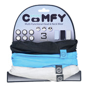 Oxford Comfy 3 Pack of Black/Blue/Grey Buff's