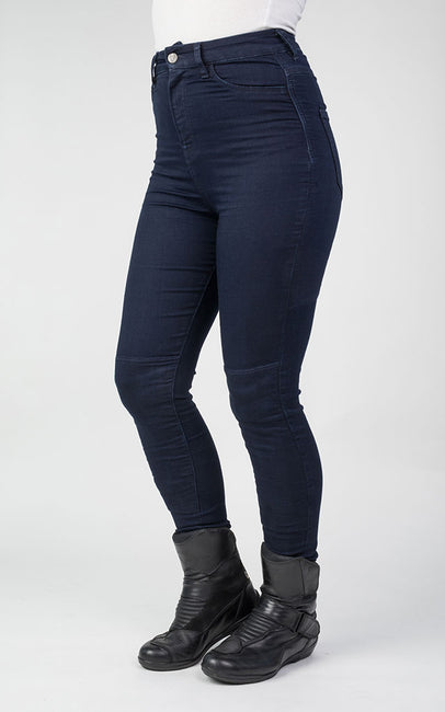 Fury Denim Leggings - Indigo UK 16 Long Leg 33""