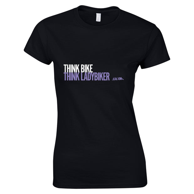 Think Bike, Think LadyBiker T-Shirt