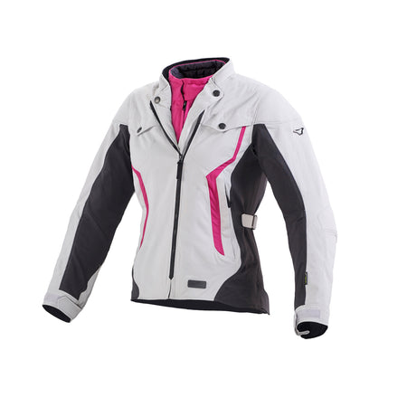 Impala - Light Grey & Pink, Large (UK roomy 10)